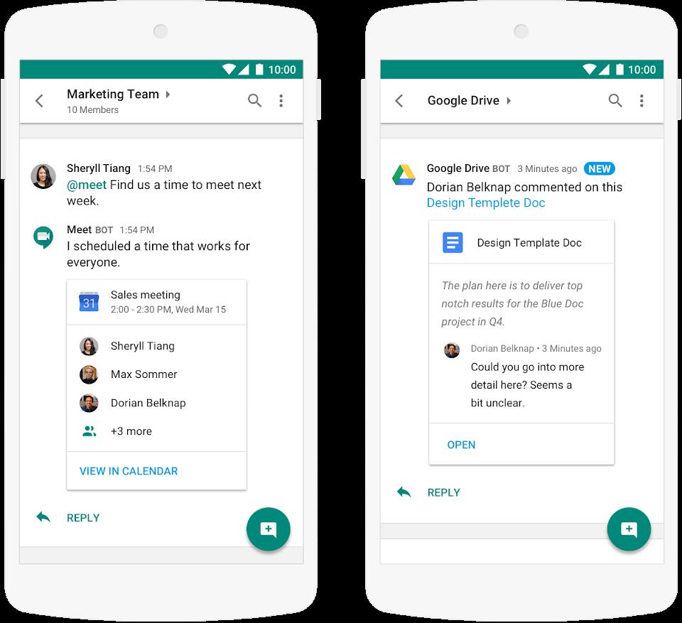 Google Hangouts Meet ПО