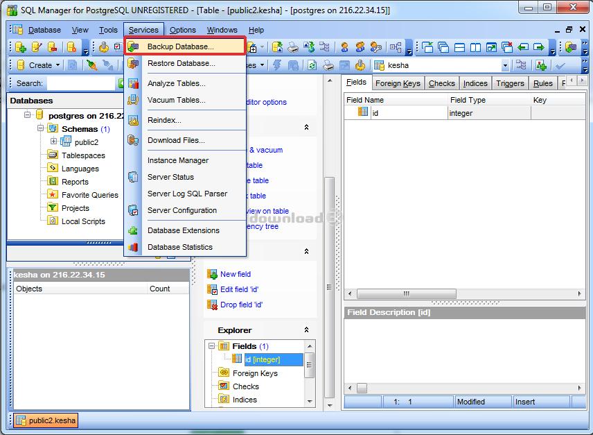 PostgreSQL программа