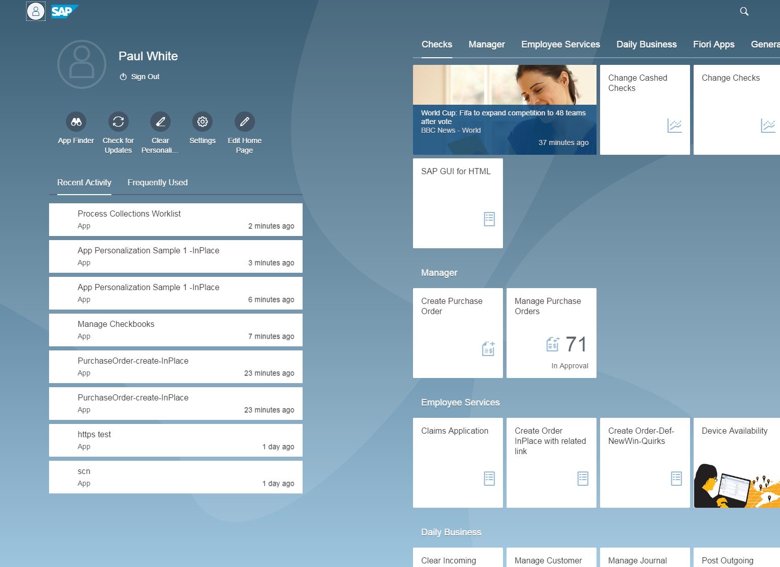 SAP NetWeaver Portal программа