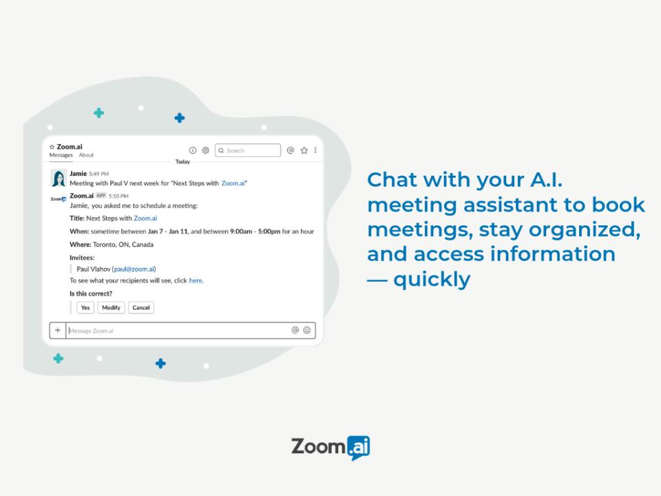 Zoom.ai Meeting Assistant программа
