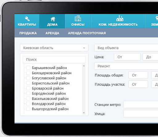Real Estate CRM System характеристики