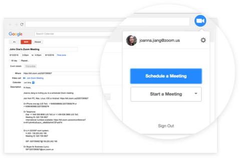 Zoom Meetings & Chat программа