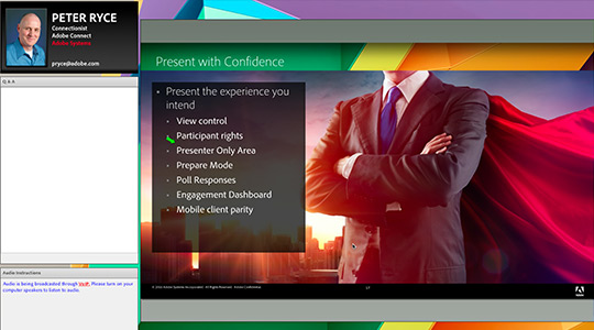 Adobe Connect характеристики