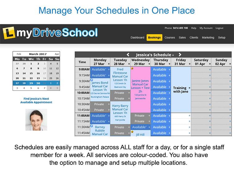 BookingTimes - Driving Schools программа