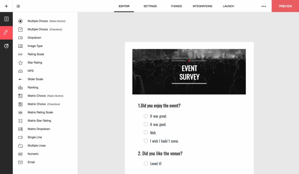 Zoho Survey программа