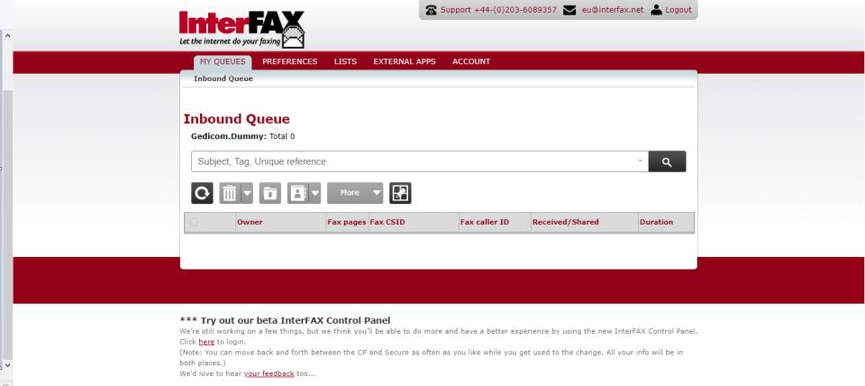 Interfax программа