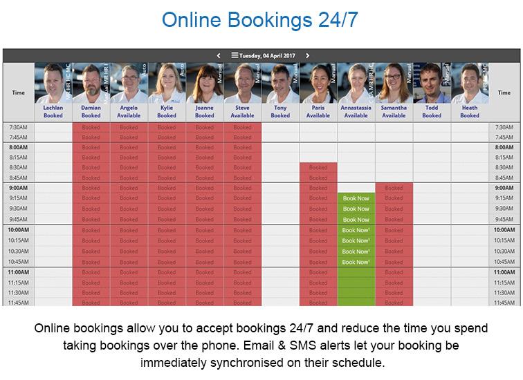 BookingTimes - Driving Schools характеристики