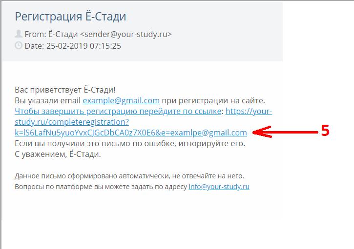 Ё-СТАДИ программа