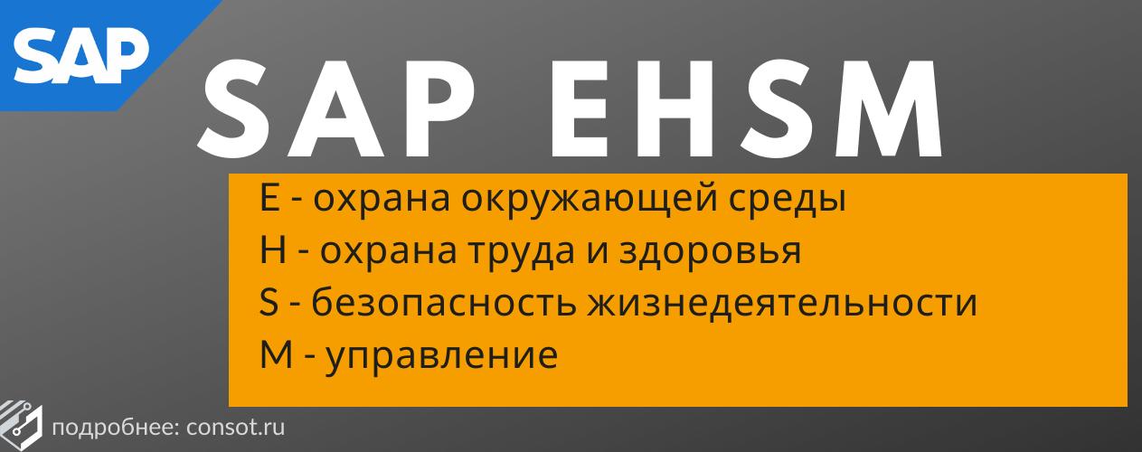 SAP EHSM отзывы