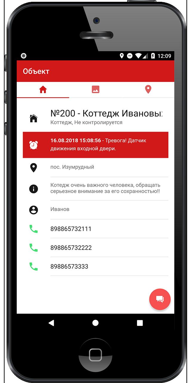 Alarm Front Monitoring характеристики