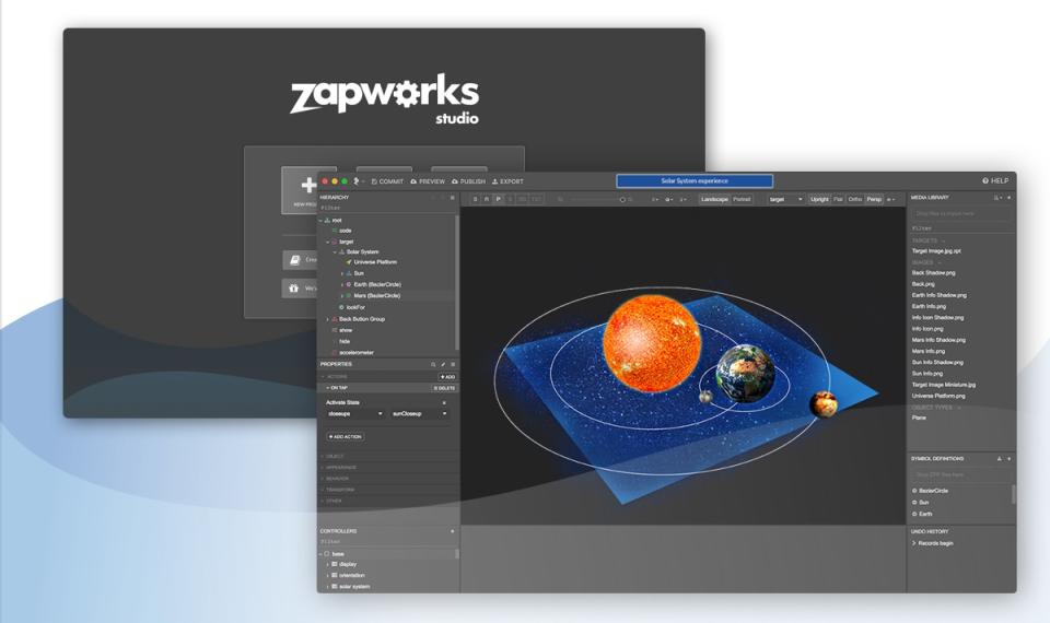 ZapWorks характеристики