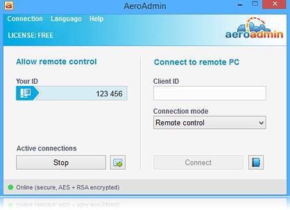 Aeroadmin ПО