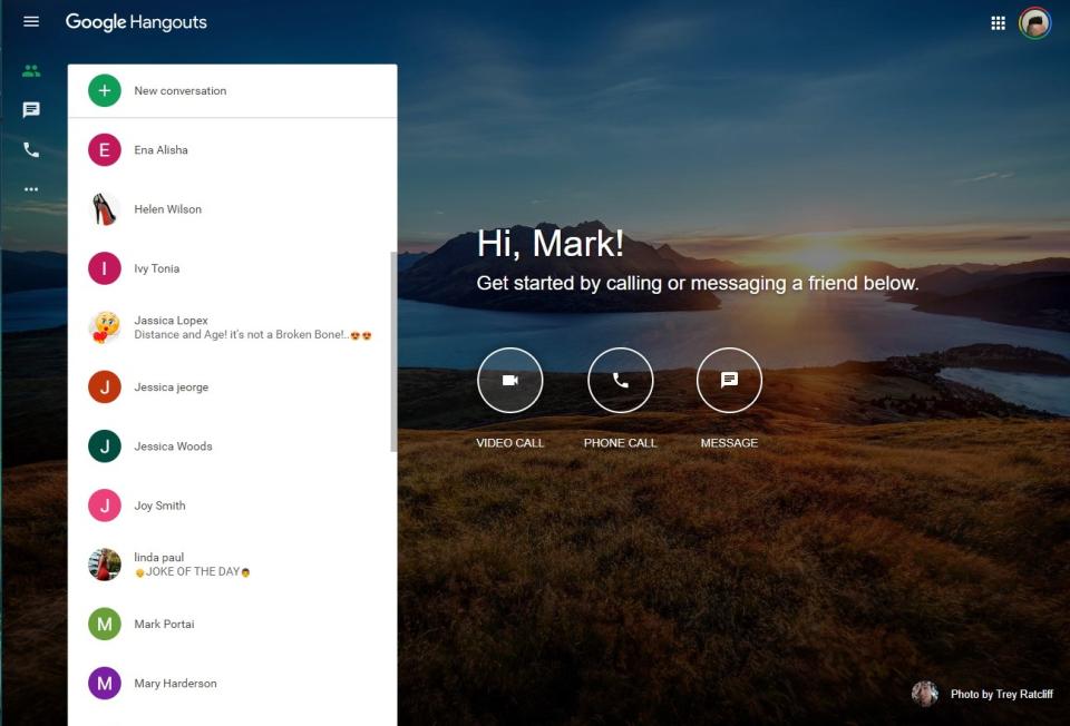 Google Hangouts Meet подбор